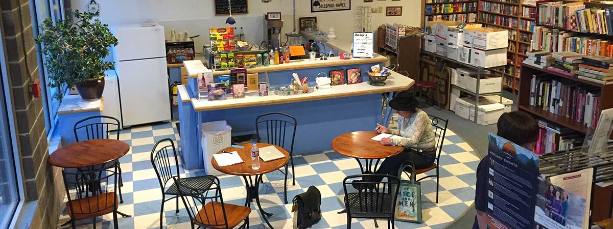 The Bookworm bookstore cafe